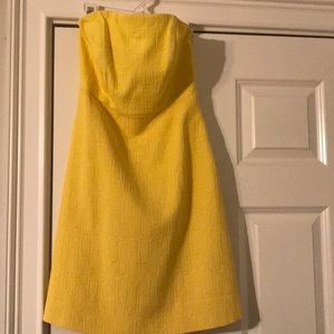 Sassy yellow sundress from Limited